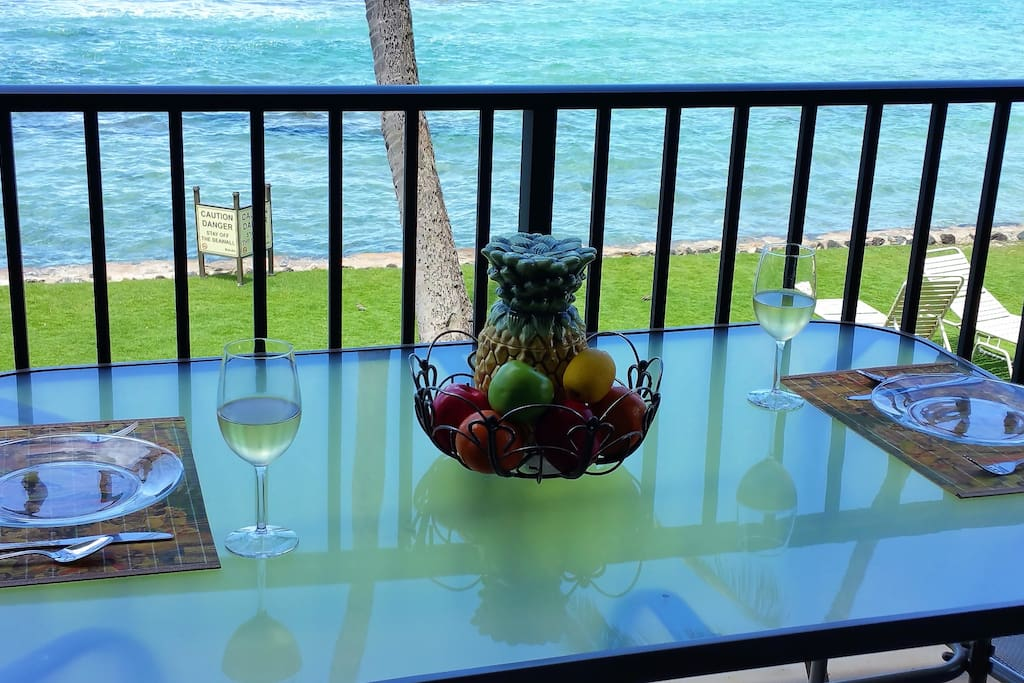 Have your own private oceanfront dining experience!