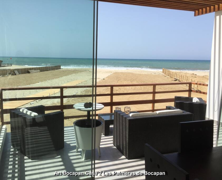 View from dining room of the unobstructed view of the ocean