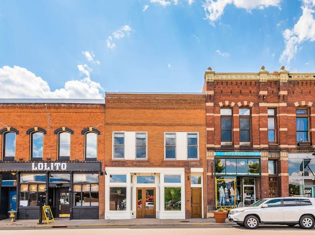 Your Airbnb is conveniently located on Main Street