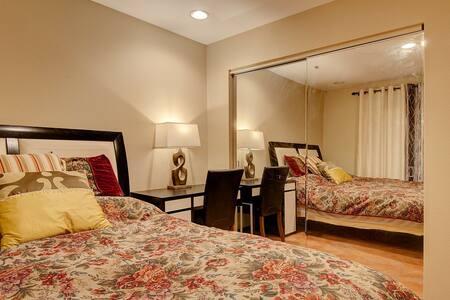 两个房间加一个浴室独享,适合家庭! - La habra heights