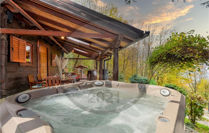 Amazing home in Kladje with Jacuzzi and 1 Bedrooms