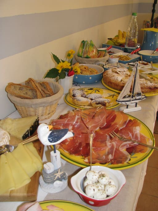 Colazione inclusa abbondante, dolce e salata