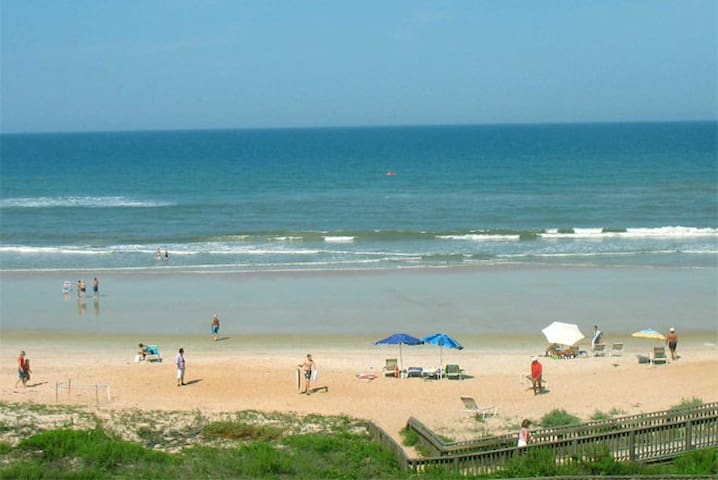 If you want a quiet beach, head to Ormond Beach and no driving