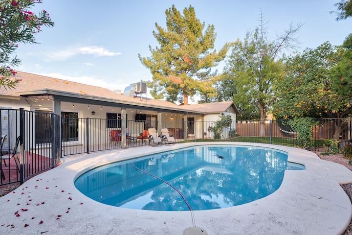 Mesa home w/ pool & hot tub near Scottsdale/Tempe!