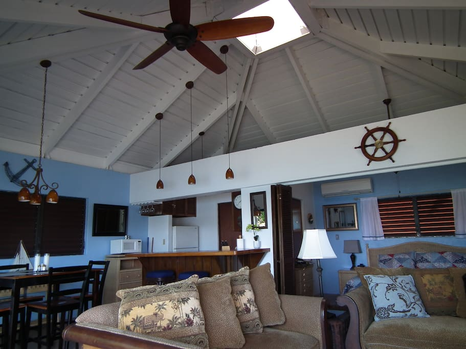 (PRE STORM) Open and Airy Floorplan