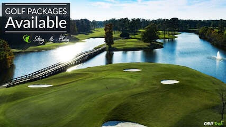 Enjoy the Activity Center Pools and Hot Tub - Charming Golf Condo #18 Maples