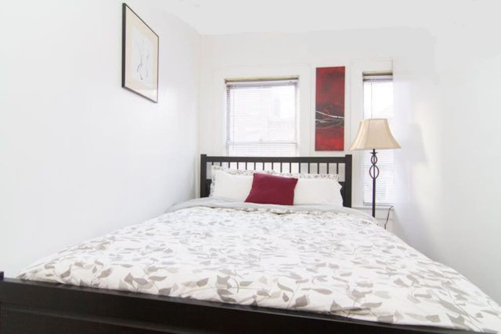 Little Italy Penthouse Piedaterra! Bedroom 2 with Queen size bed.