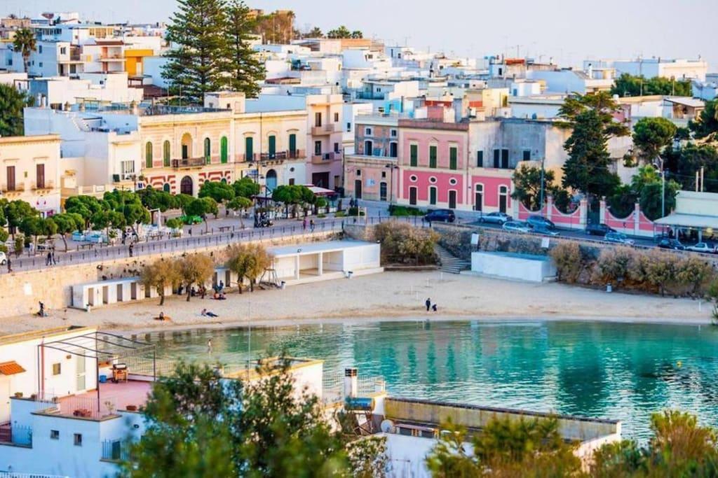 Una terrazza sul mare case in affitto a santa maria al bagno puglia italia - Puglia santa maria al bagno ...