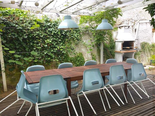 Art Nouveau - Casa Pompeu Figueiredo - T2 w/garden