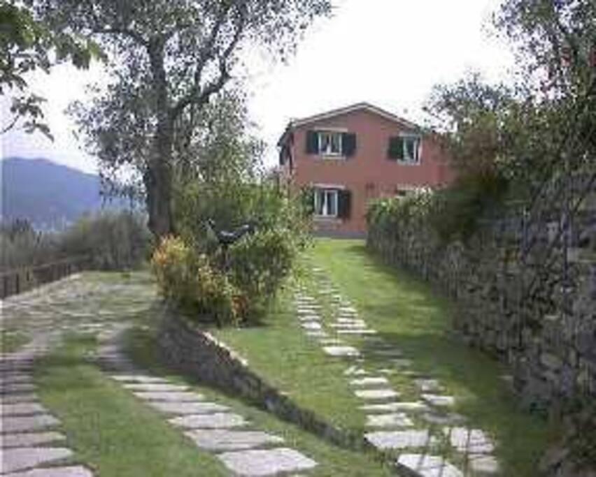 Vista esterno casa
