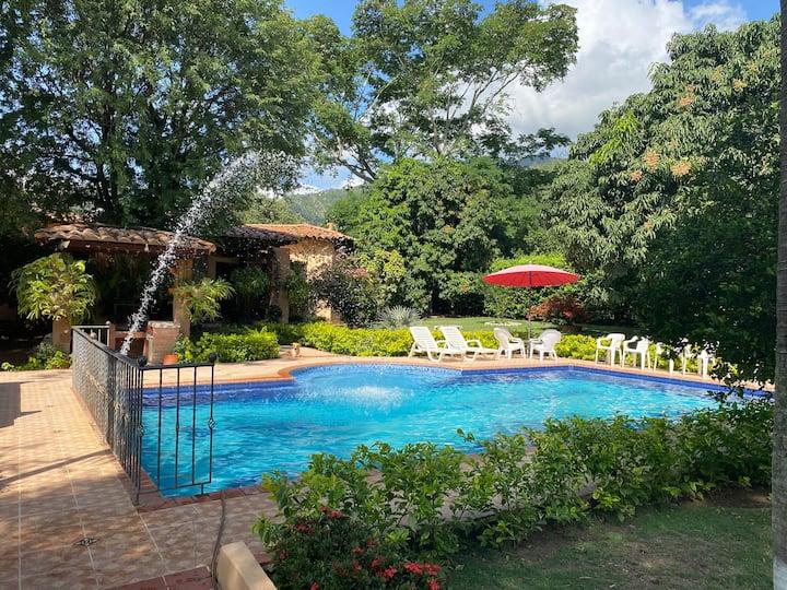 Casa de campo La Coralita en Santa Fe de Antioquia