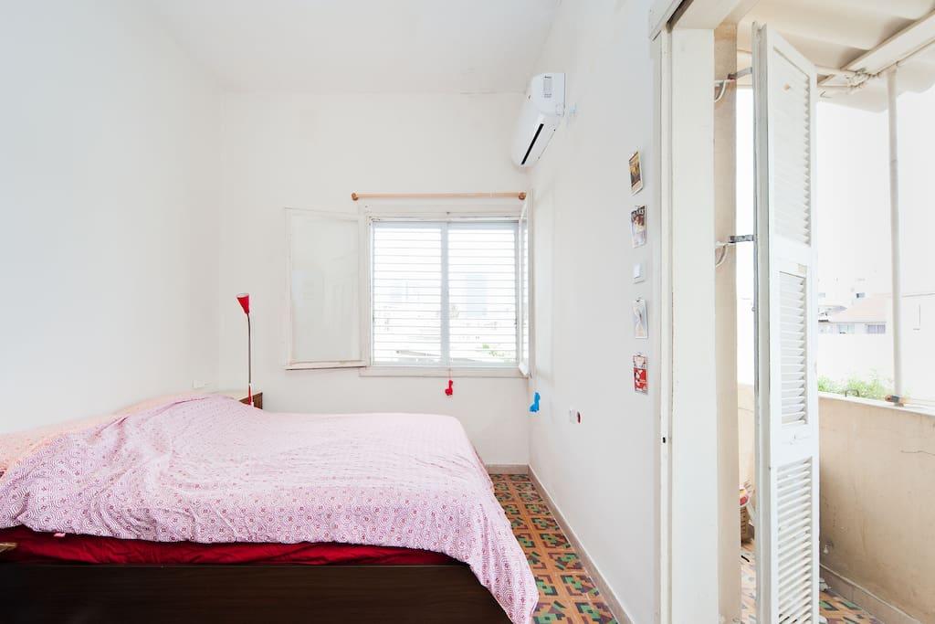 Bedroom! we believe nothing should distract from sleep. :)