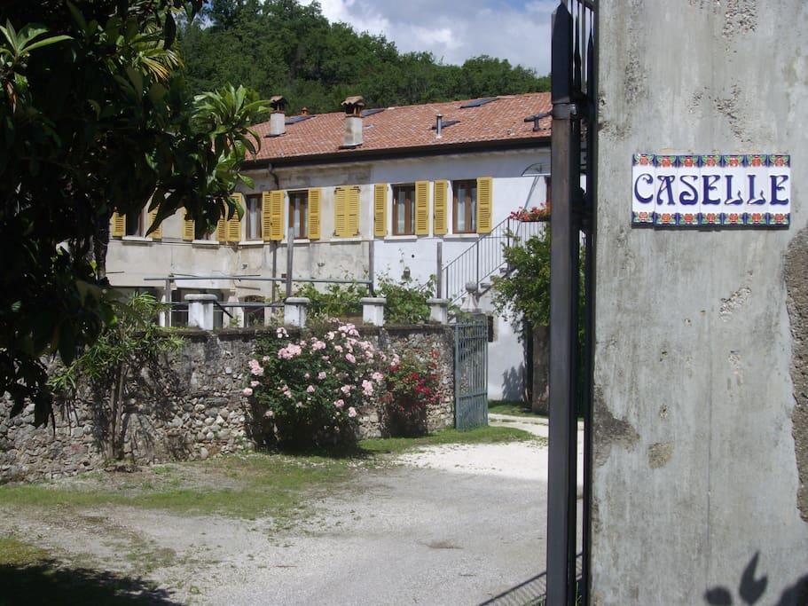entrata principale proprietà