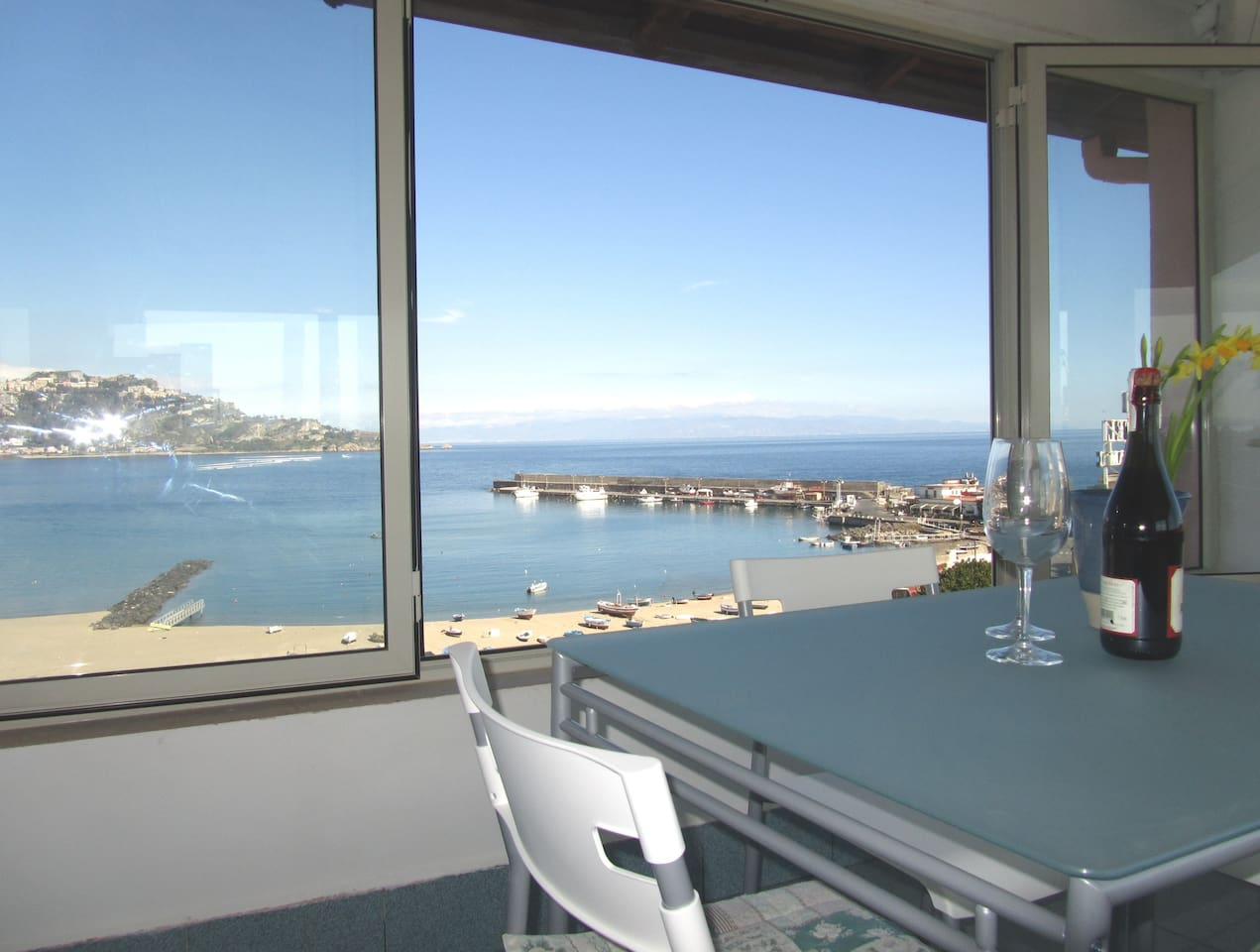 Seaview from the dining room