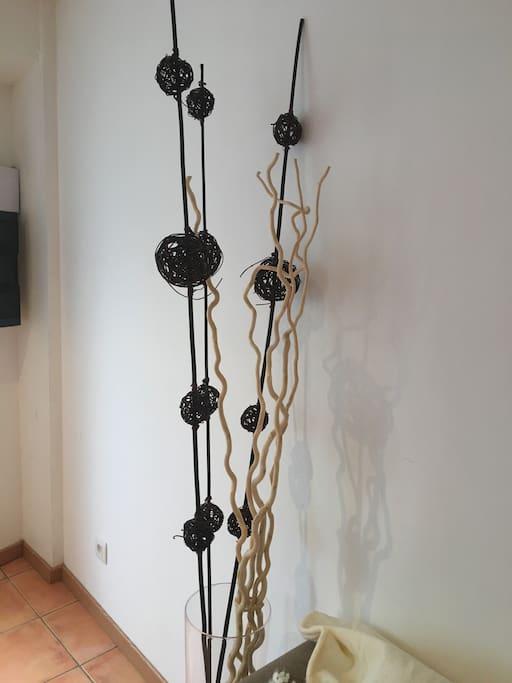 Détail décoration entrée