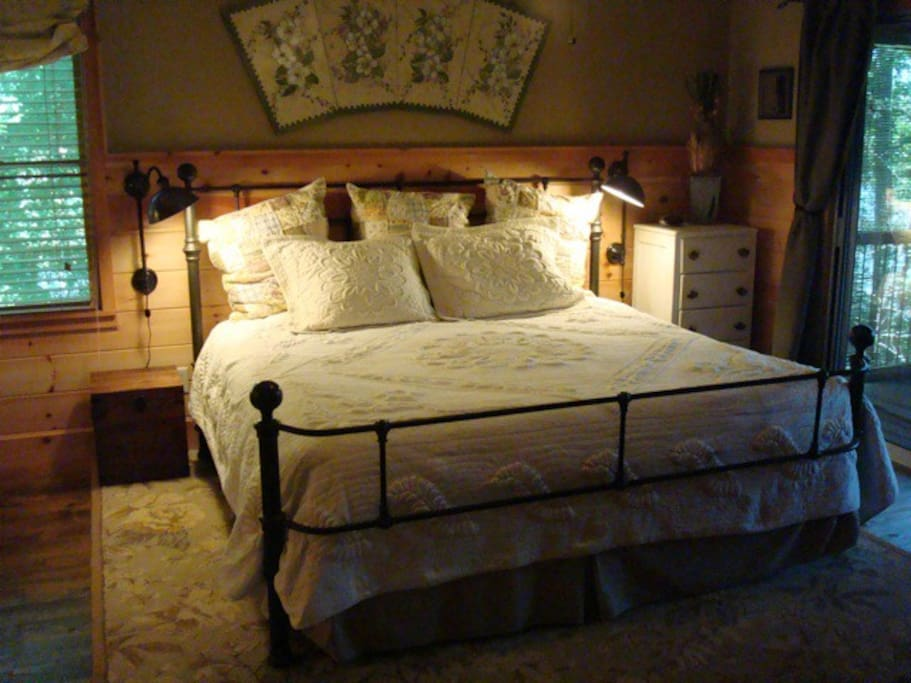 Master Bedroom with adjoining full bath