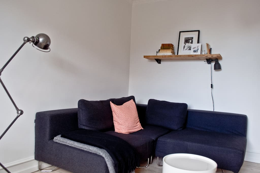 Cosy sofa in the living room