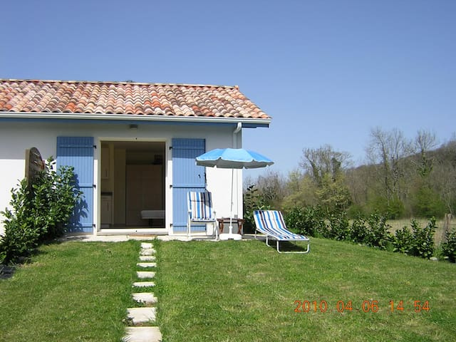 Gîte 2 pers Pays basque. Campagne.  - Escos - Rumah