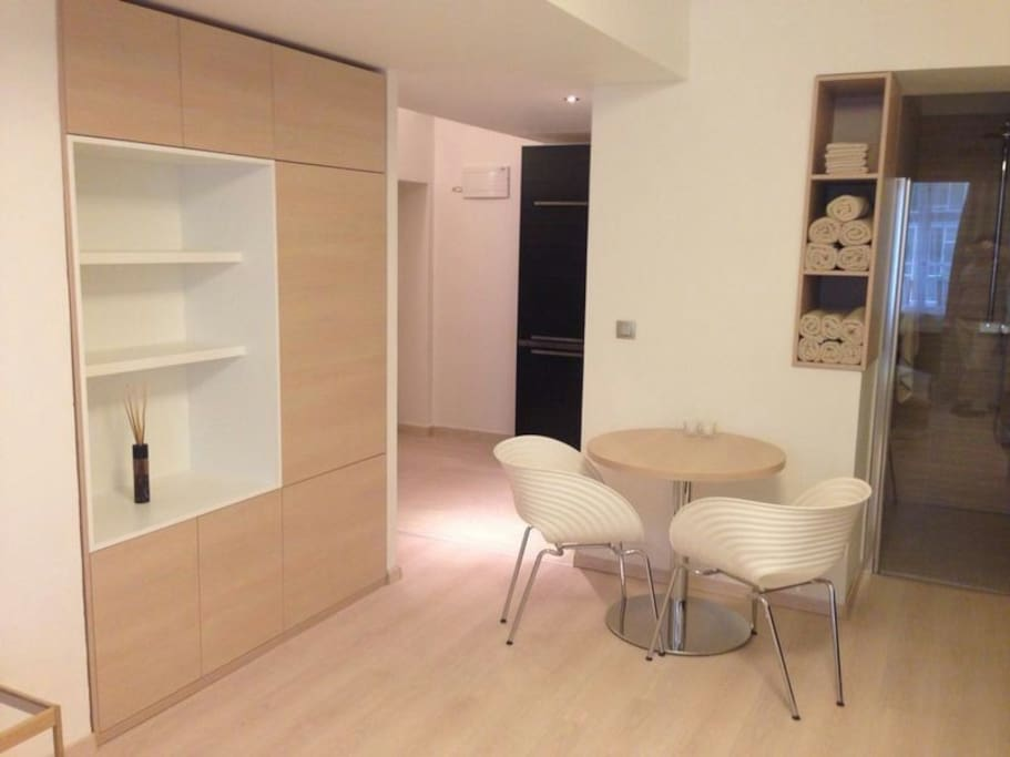 Brand new studio in Prague close to the centre