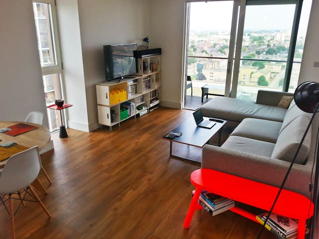 The East London View - 2 bed/2 bath - Londra - Appartamento