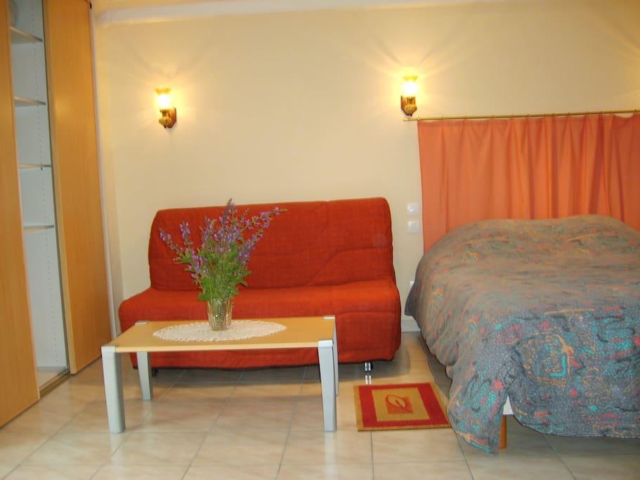 canapé BZ et lit en 140