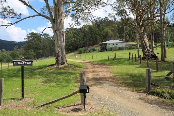 "Hunter Valley - ""Outta Range"" rural cabin . - Congewai - Cabaña"