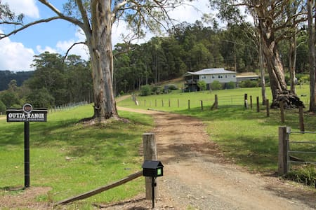 "Hunter Valley - ""Outta Range"" rural cabin . - Congewai - Chatka"