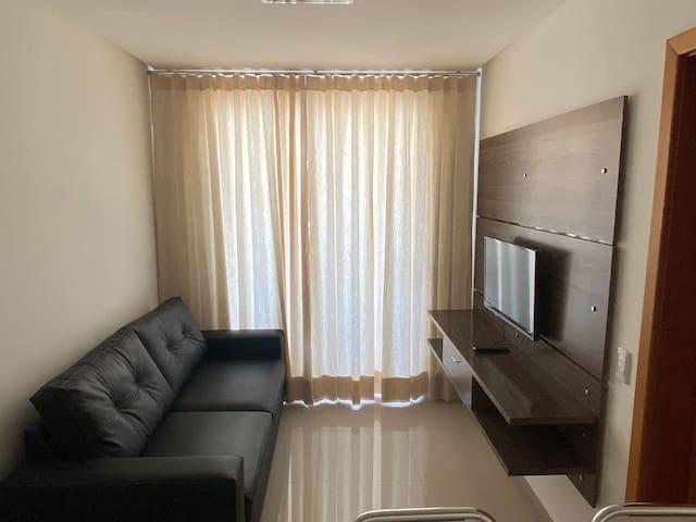 Apartamento bonito e confortável no Alto da Glória, em Goiânia