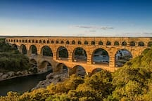 Pont du Gard : 30 minutes by car