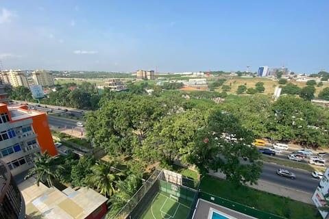 Luxe 1BR Appartement met Verbazingwekkend Uitzicht @ MIRAGE