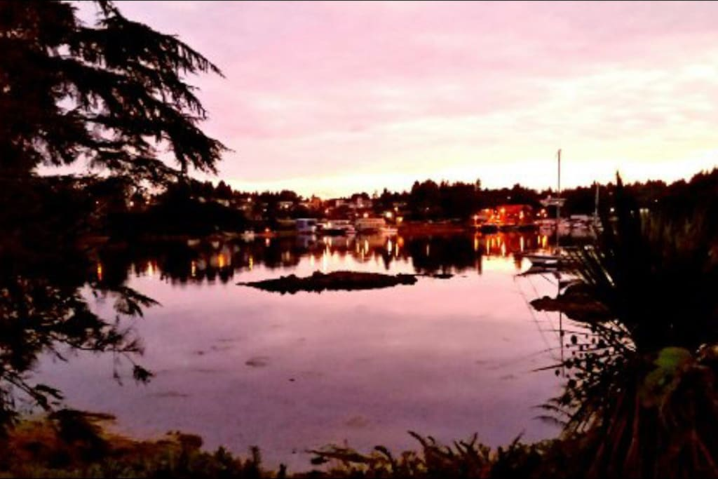 Ucluelet at dusk
