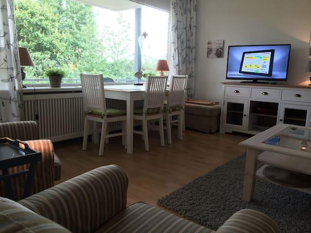 Helle Strandwohnung in Wyk  - Wyk auf Föhr - Lejlighed