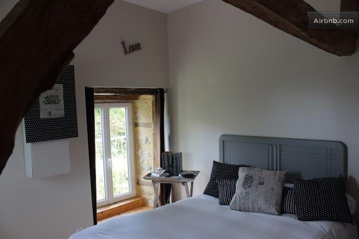 Chambre dans charmante grange  - Saint-Gervais-du-Perron - House