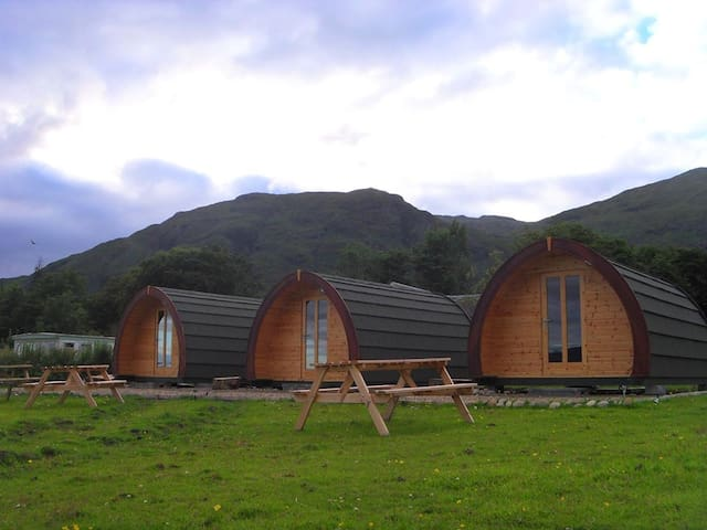 Glamping Pods (Saltire) Highlands