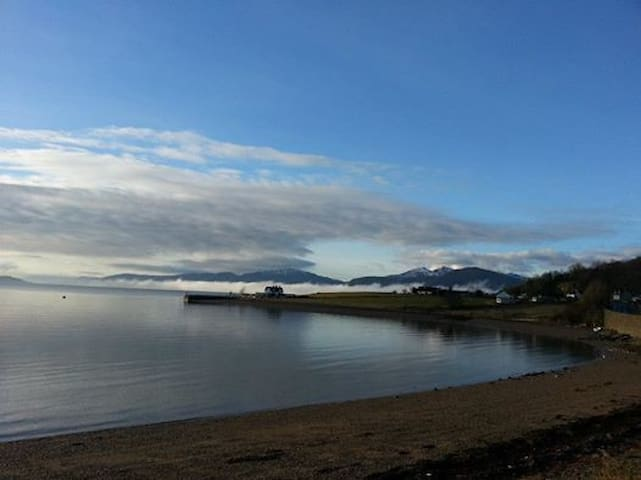 Loch Linnhe and surrounding hills