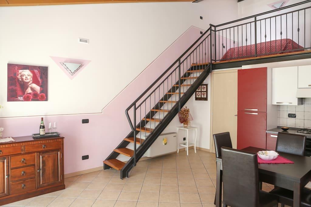 suite apt su 2 piani con soppalco appartamenti in