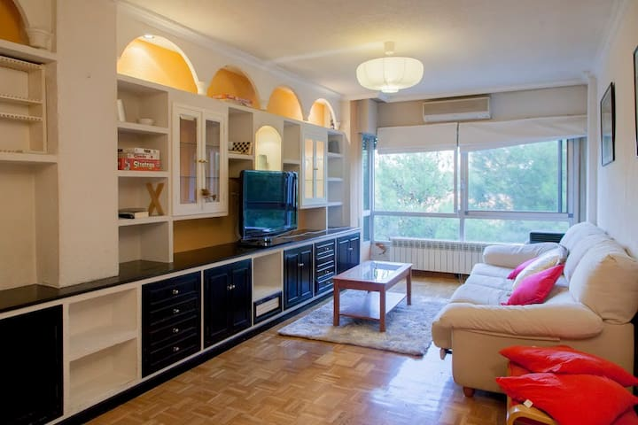 Sunny and welcoming apartment in Rivas Vaciamadrid - Rivas-Vaciamadrid - Wohnung