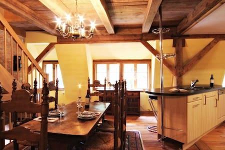 Schloss Stülpe - Maisonette Isabellino (Sauna) - Nuthe-Urstromtal