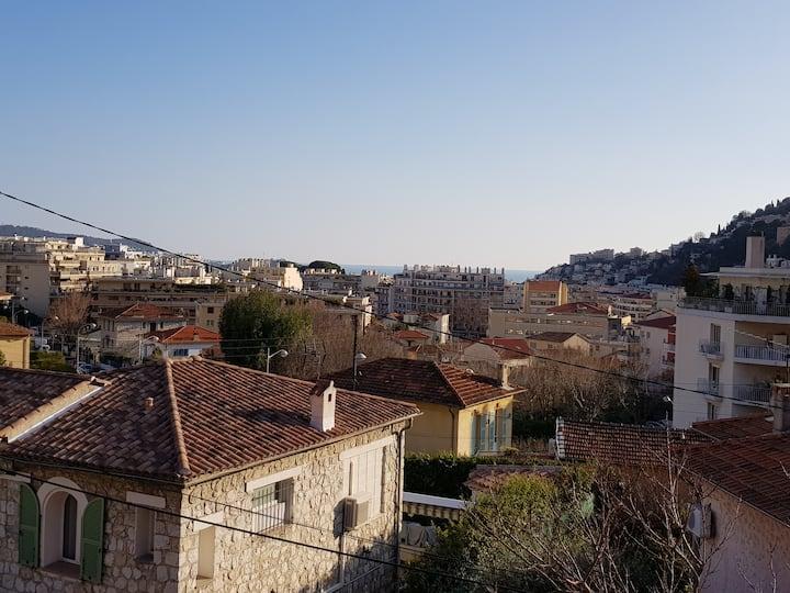 Villa Niçoise (4 chambres) avec terrasse