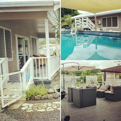A beautiful 3 bedroom home with pool