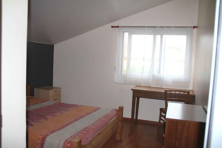 Chambre dans un cadre sympathique et convivial - Pont-de-l'Isère