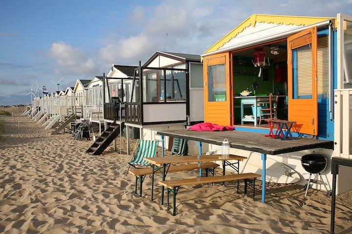 PRIVATE BEACH HOUSE  (first row) near Amsterdam