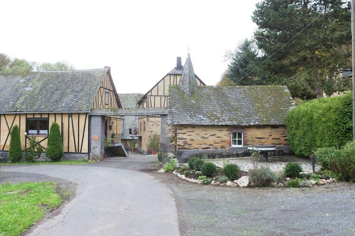 Einzimmerwohnung auf dem Landgut einer alten Mühle in Kaifenheim (Eifel)