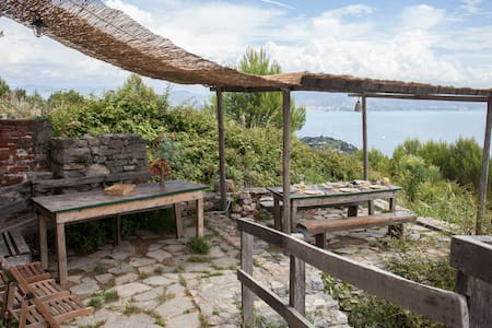 hiking refuge-magic view front sea3 - Portovenere - 住宿加早餐