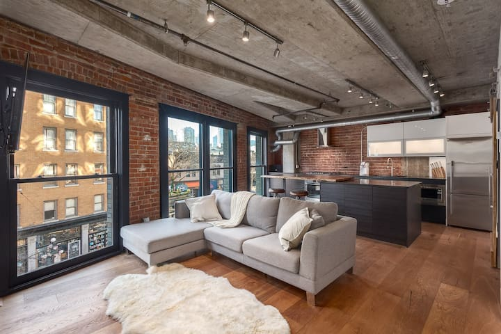Gastown Warehouse Conversion