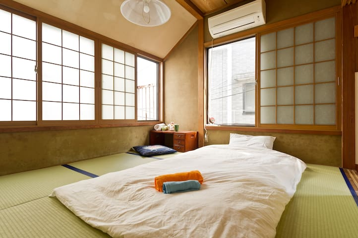 Traditional tatami room with friendly hosts - Itabashi-ku - House