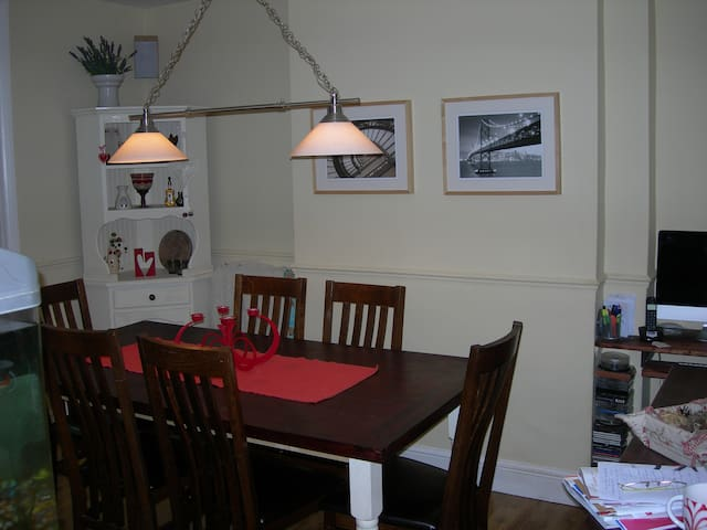 the dining room where we eat