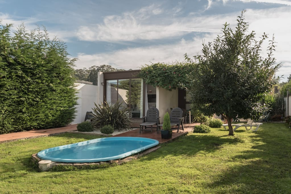 casa rural playa vi a vella con piscina cottages en