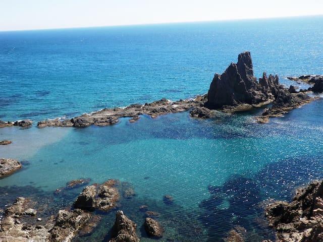 Nuevo y luminoso apartamento junto al Cabo de Gata - Almería