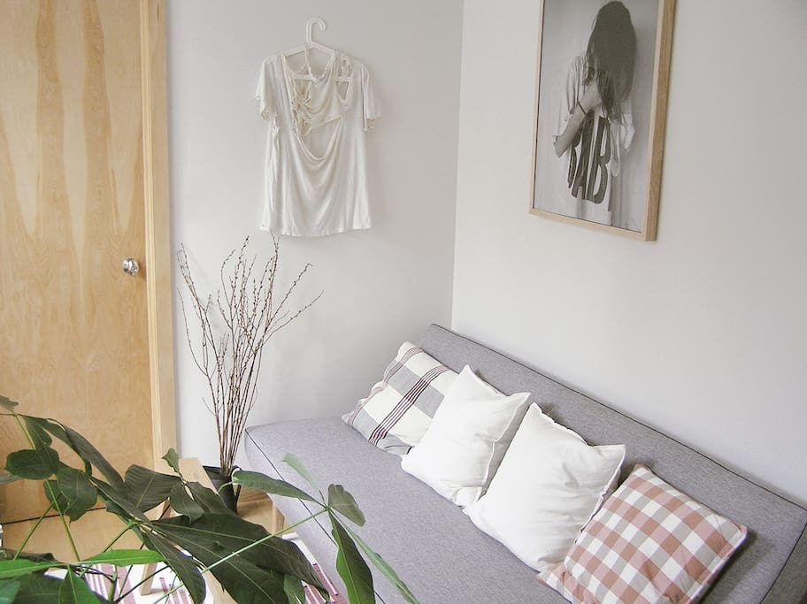Living Room: detail.